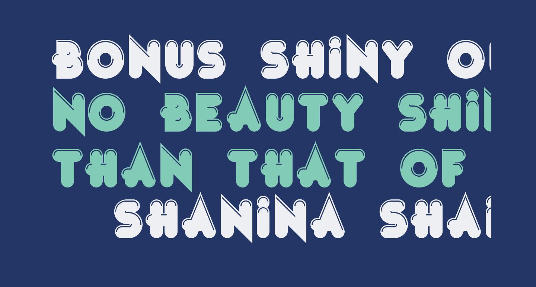 Bonus Shiny Outline