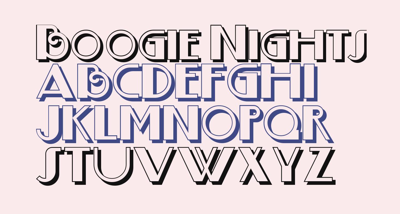 Boogie Nights ShadowNF