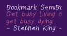 Bookmark SemiBold Italic