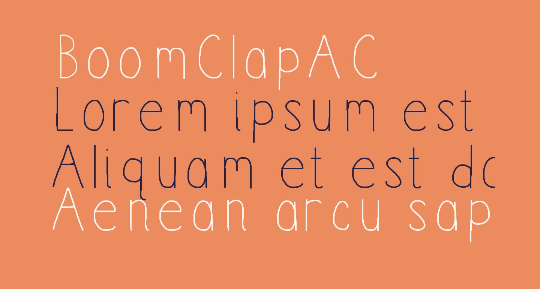 BoomClapAC