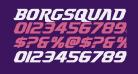Borgsquad Italic