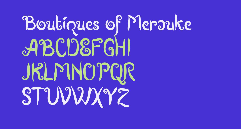 Boutiques of Merauke