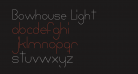 Bowhouse Light