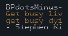 BPdotsMinus-Bold