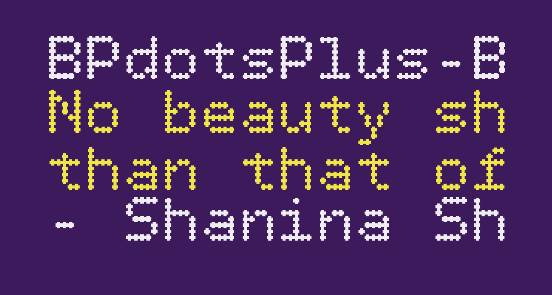 BPdotsPlus-Bold