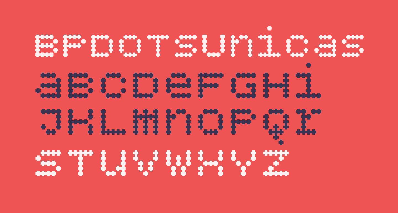 BPdotsUnicasePlus-Bold