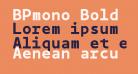 BPmono Bold