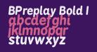 BPreplay Bold Italic