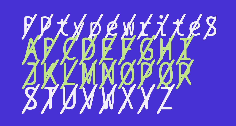 BPtypewriteSlashed