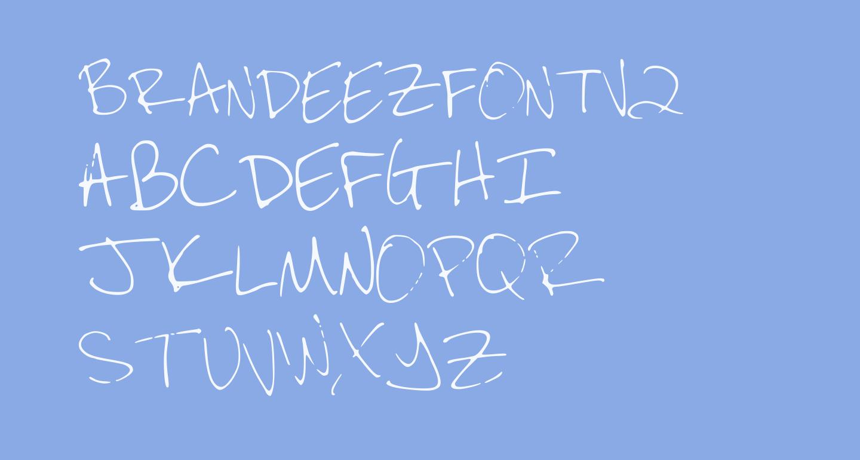 BRANDEEZFONTV2