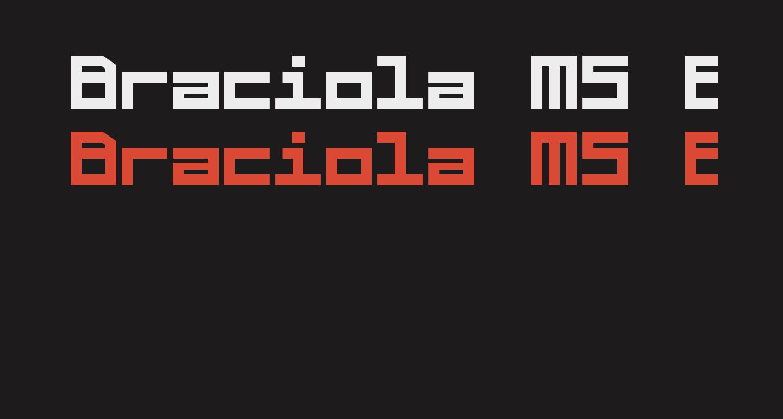 Braciola MS Extrabold