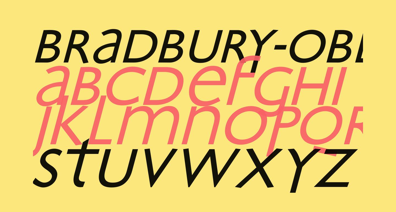 Bradbury-Oblique