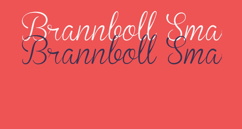 Brannboll Smal