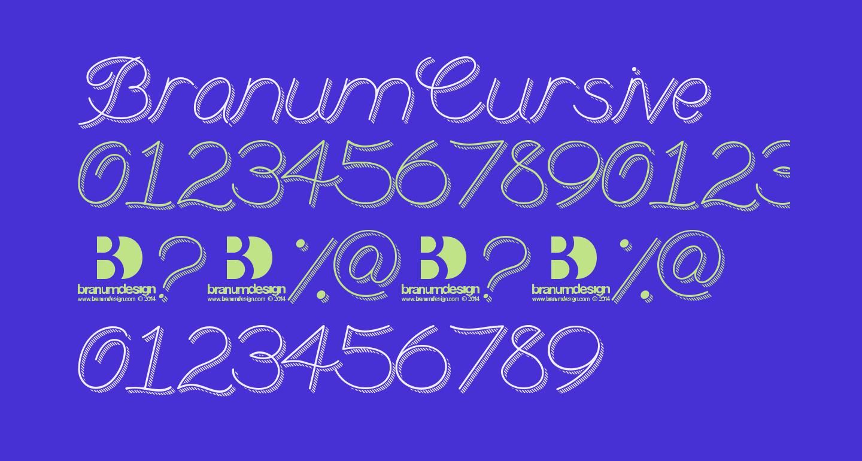 BranumCursive