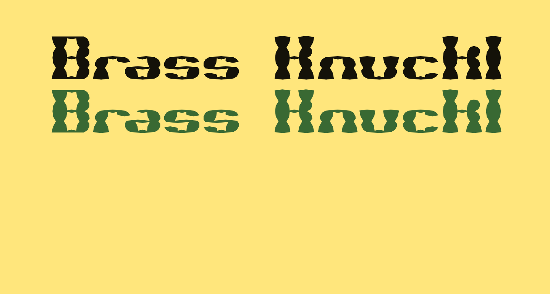 Brass Knuckle SS BRK