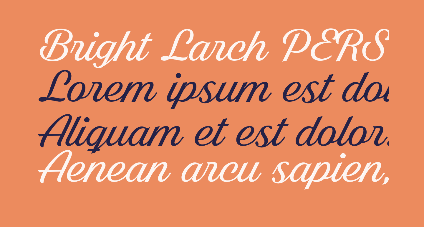 Bright Larch PERSONAL USE ONLY