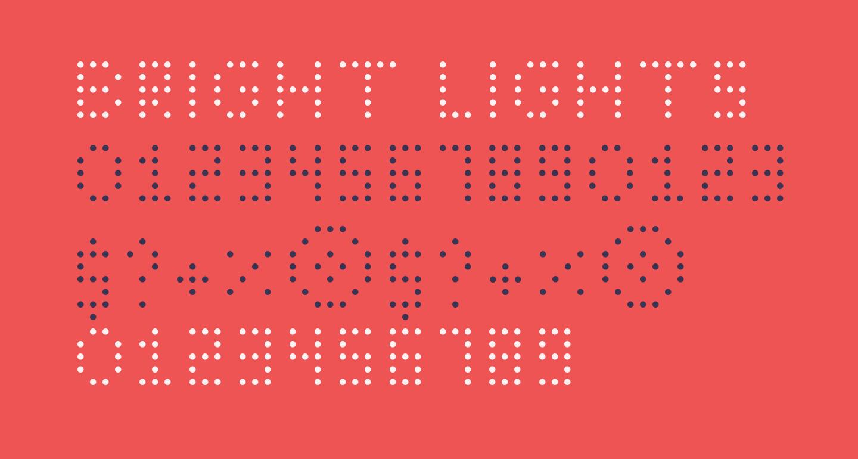 Bright Lights Thin Regular