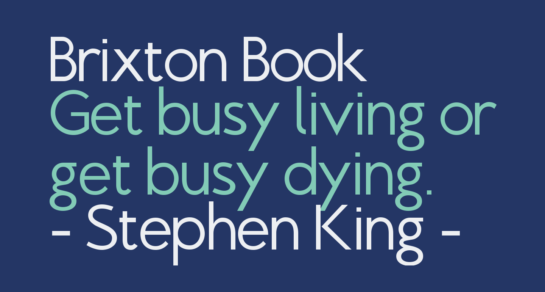 Brixton Book