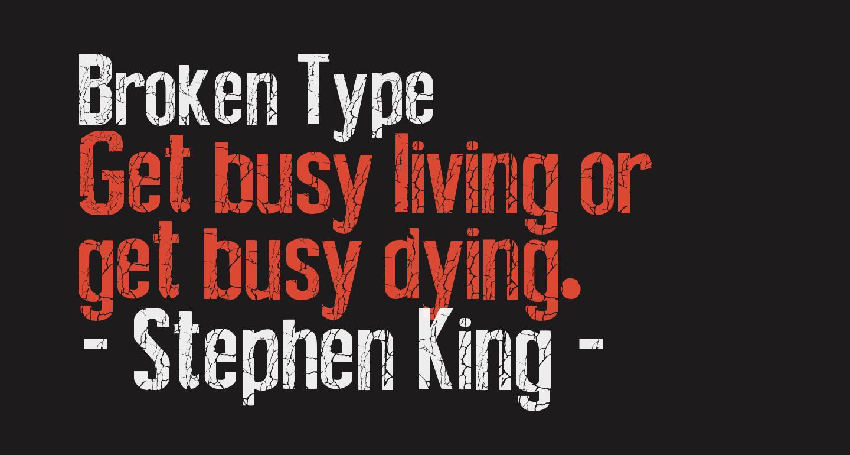 Broken Type