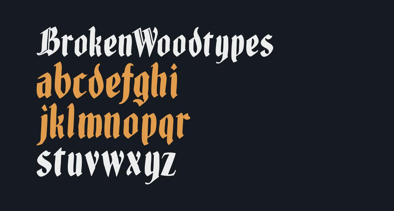 BrokenWoodtypes