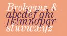 Brokgauz & Efron Italic