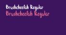 Brushcheetah Regular