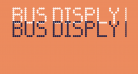 BUS DISPLY Regular