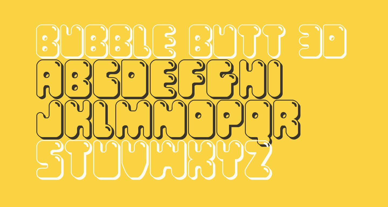 Bubble Butt 3D Regular