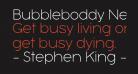Bubbleboddy Neue Trial Thin
