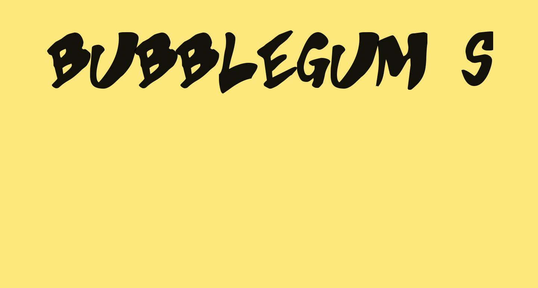 Bubblegum Superstar