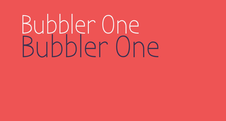 Bubbler One