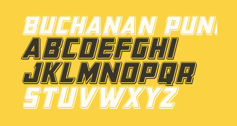 Buchanan Punch Italic