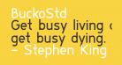 BuckoStd