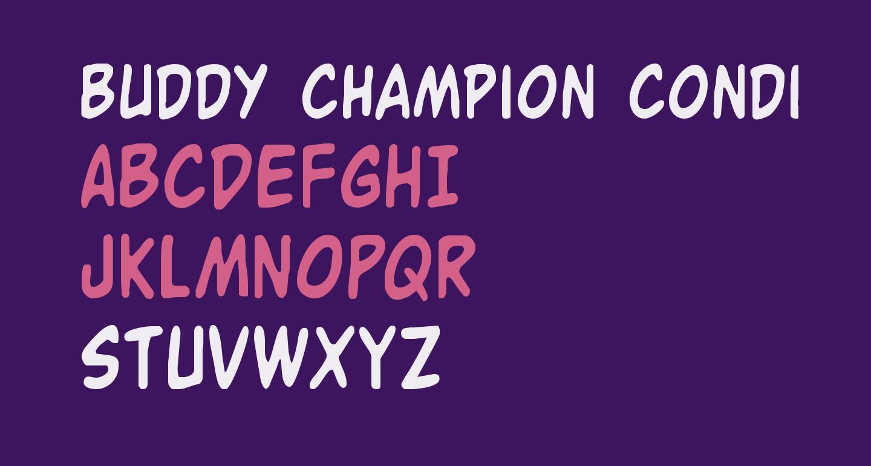 Buddy Champion Condensed