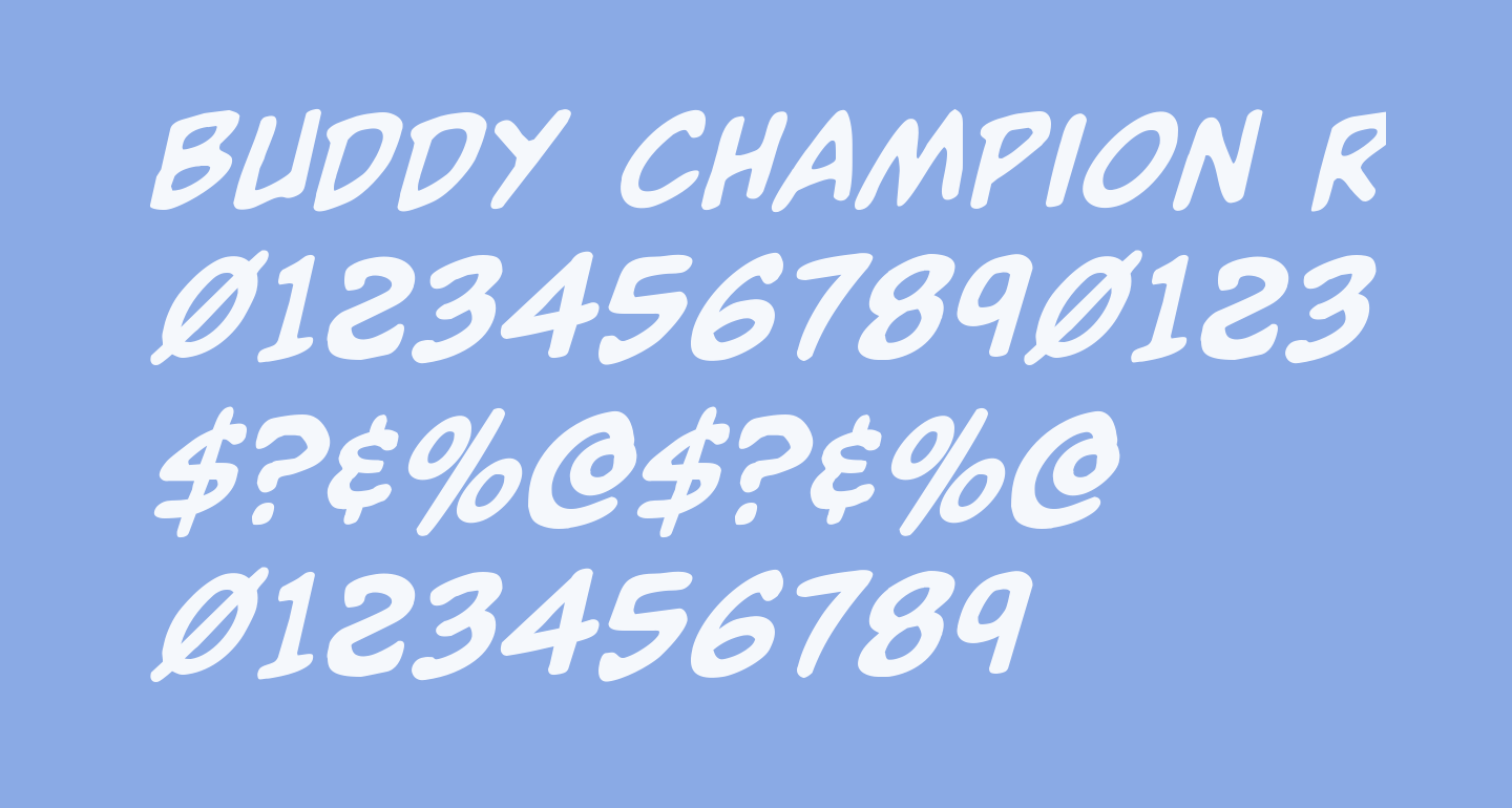 Buddy Champion Rotalic