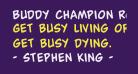 Buddy Champion Rotated