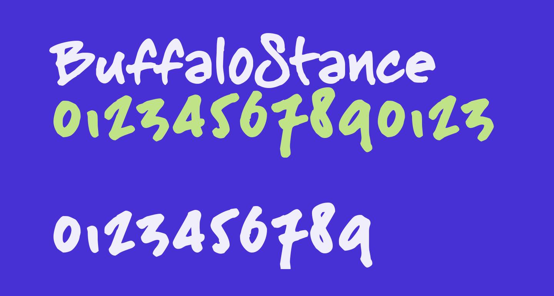BuffaloStance
