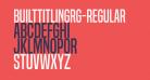 BuiltTitlingRg-Regular
