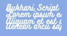 Bukhari Script