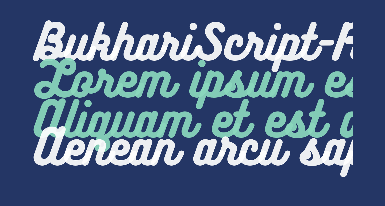 BukhariScript-Regular