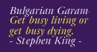 Bulgarian Garamond Italic