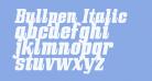 Bullpen Italic