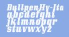 BullpenHv-Italic