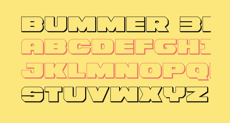 Bummer 3D
