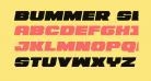 Bummer Semi-Italic