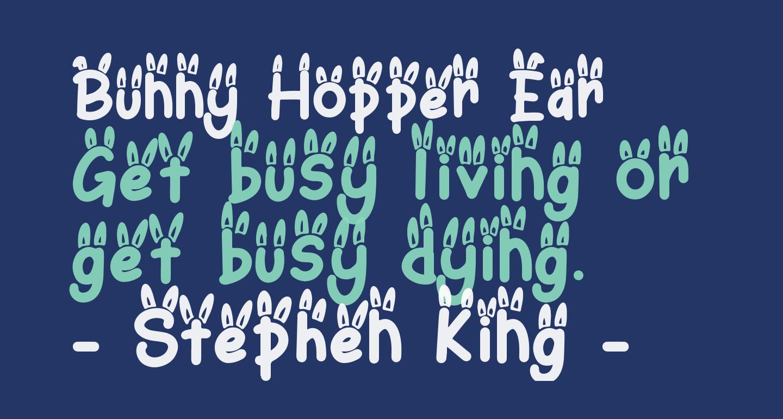 Bunny Hopper Ear