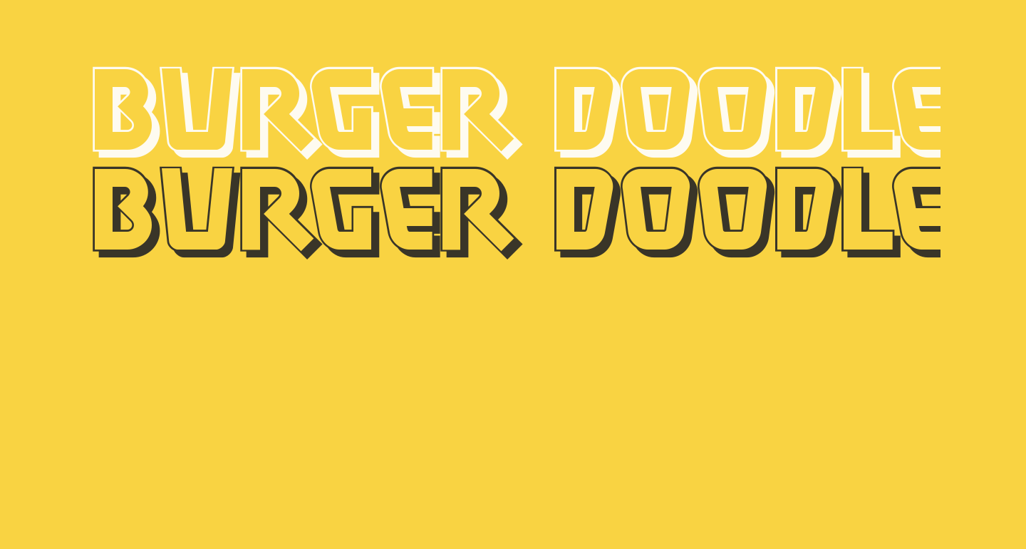 Burger Doodle Two NF