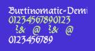 Burtinomatic-DemiBold