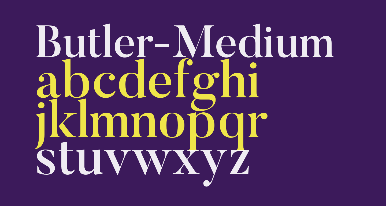 Butler-Medium