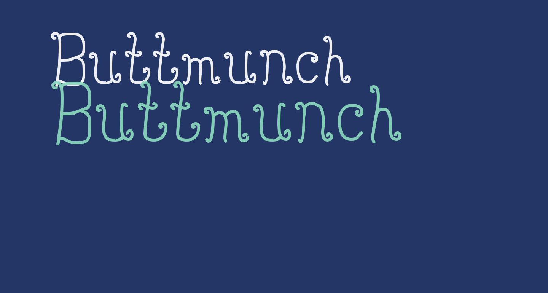 Buttmunch